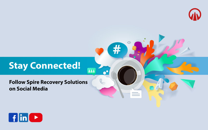 Stay connected with Spire Recovery Solutions on Social Media